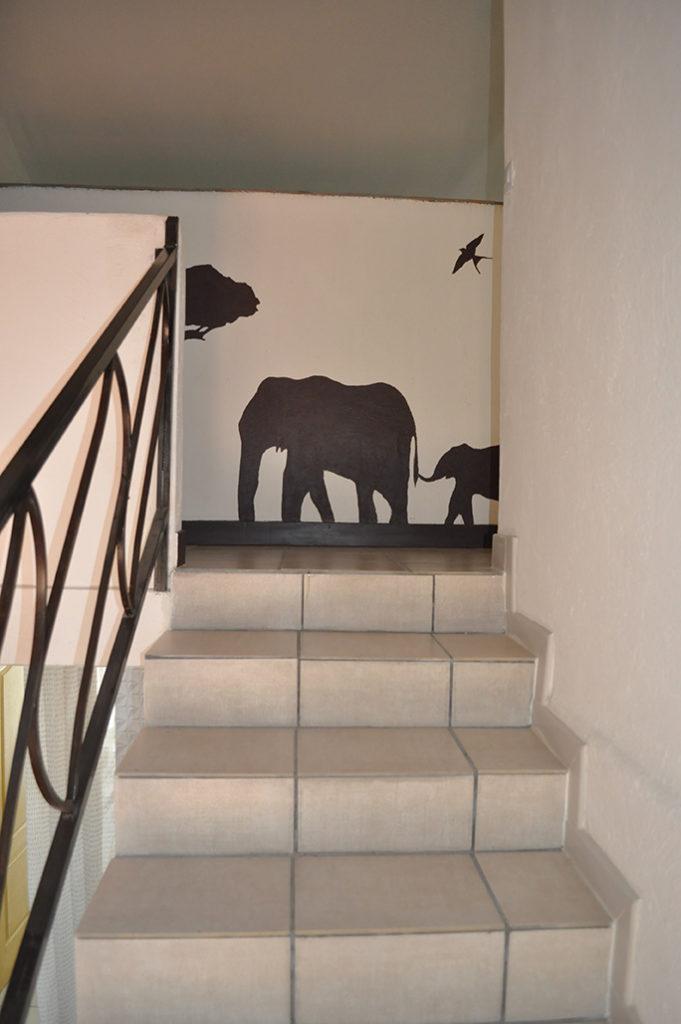 Palier deuxième étage